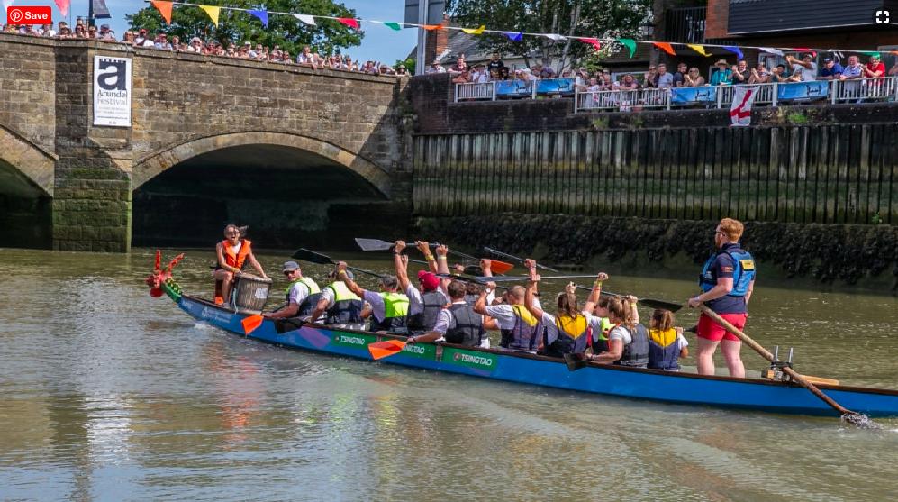 arundel festival dragon boat race