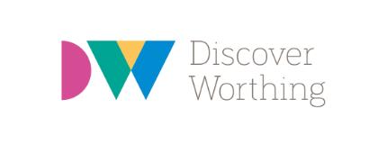 discover worthing logo