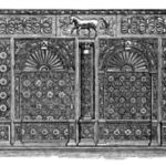 The cabinet made up by Rev Edward Turner from the mantle surround out of the old Nineveh House