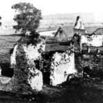 Photo from c1890 showing the friary before Mill Road was built a few years later.