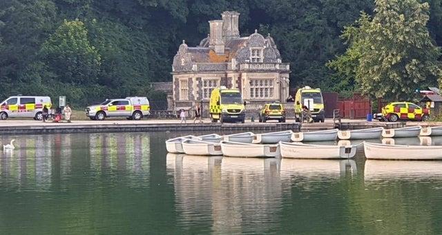 Swanbourne lake accident