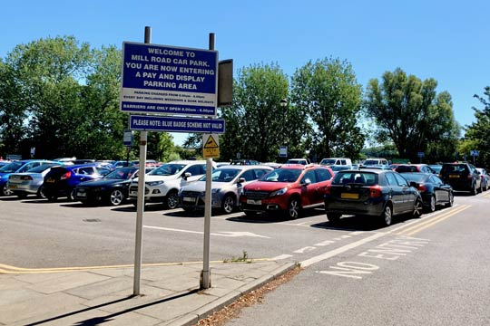 Mill Road Car park