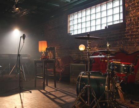 Musical practice room