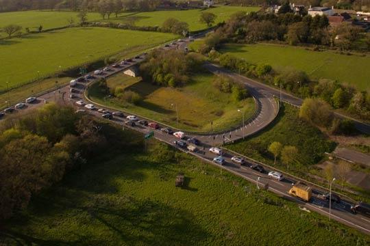Arundel traffic jam