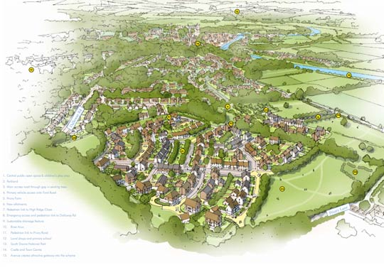 Ford Road housing plans