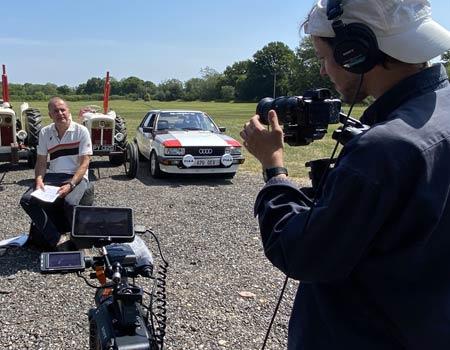 BeechToBeach filming