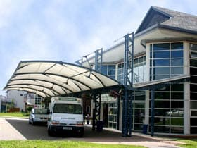 St Richards Hospital reception