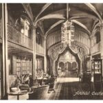 Old photo of the magnificant library