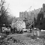 Rebuilding of the castle - late 1800's